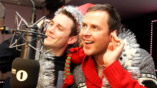 When is Scott Mills on-air this Christmas?