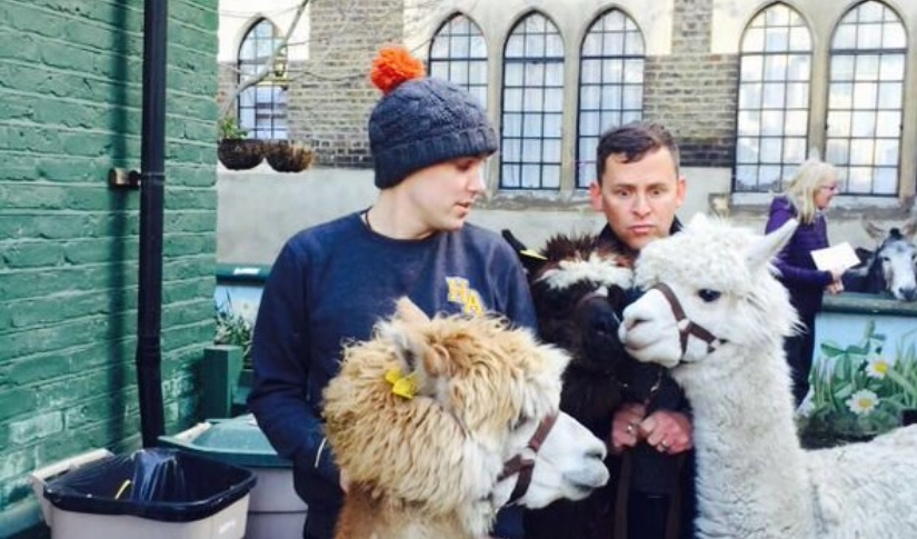 Scott and Chris appear on Countryfile