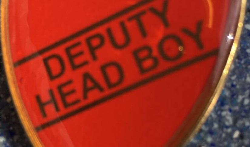 """Scott becomes """"Deputy Head Boy"""""""