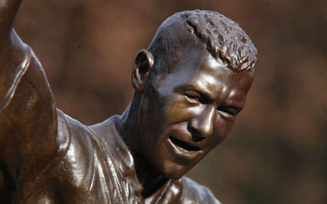 It's uncanny – the Alan Shearer statue joked about on-air