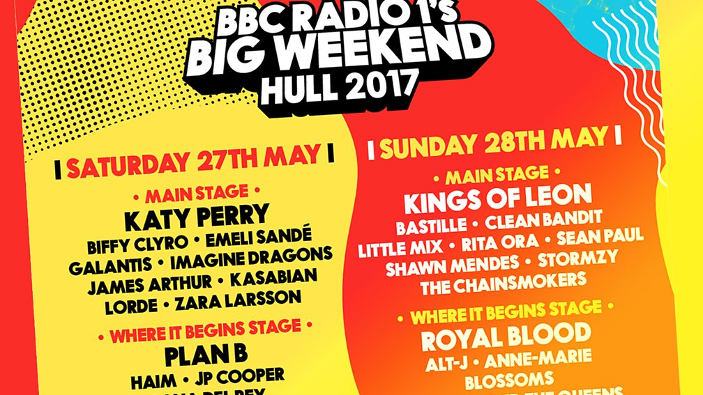Where will Radio 1's Big Weekend 2018 be held?